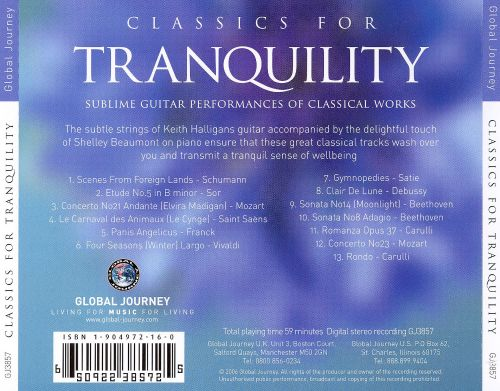 Global Journey: Classics for Tranquility