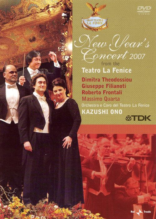 New Year's Concert 2007: from the Teatro La Fenice [DVD Video]
