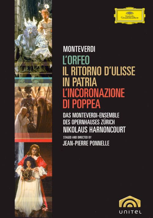 Monteverdi: Three Operas [DVD Video]