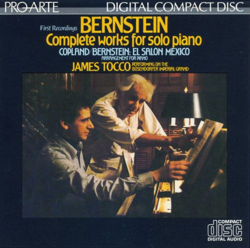 Bernstein: Complete works for Solo Piano