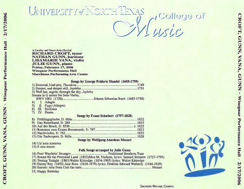 A Faculty and Guest Artist Recital