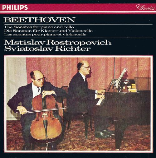 Beethoven: The Sonatas for Piano and Cello