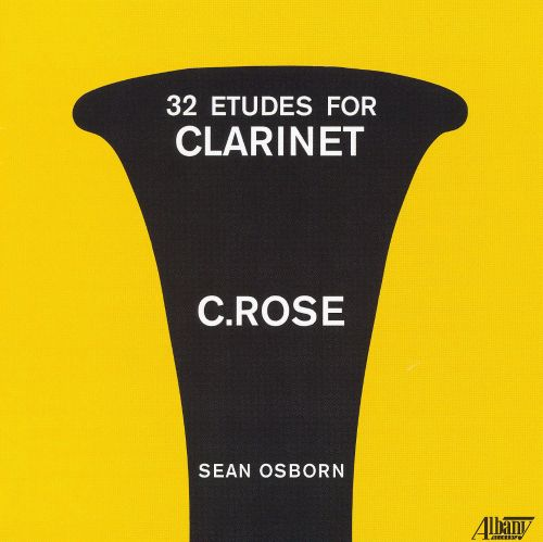 Cyrille Rose: 32 Etudes for Clarinet