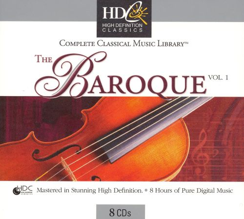 Complete Classical Music Library: The Baroque, Vol. 1 [Box Set]