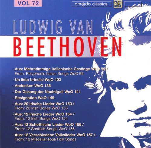 Beethoven: Complete Works, Vol. 72