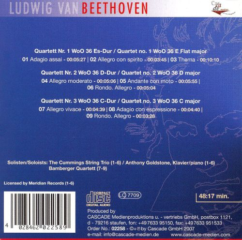 Beethoven: Complete Works, Vol. 58