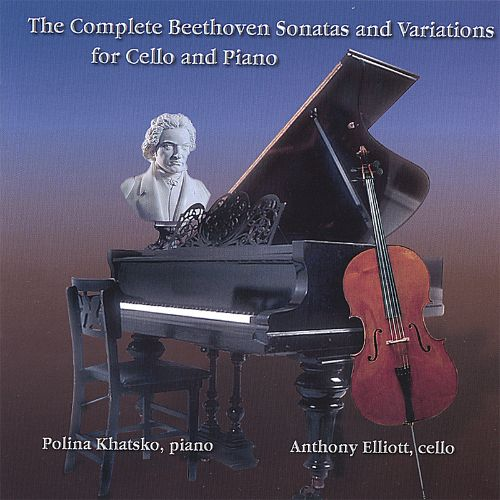 The Complete Beethoven Sonatas and Variations for Cello and Piano