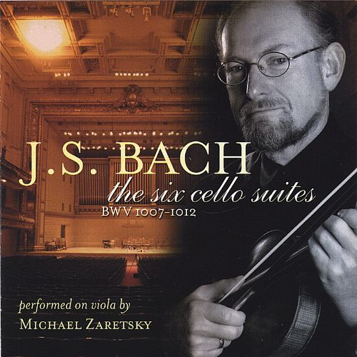 J.S.Bach: The six cello suites BWV 1007-1012