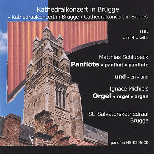 Cathedralconcert in Bruges with panflute & organ