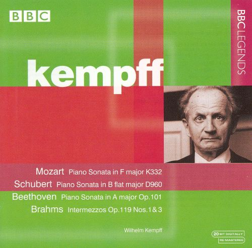 Kempff Plays Mozart, Schubert, Beethoven, Brahms
