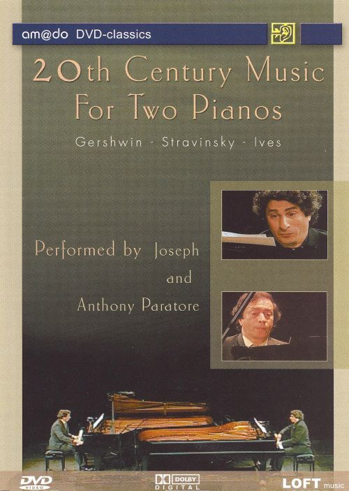 20th Century Music for Two Pianos [DVD Video]