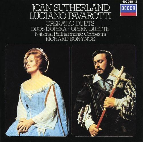 joan sutherland and luciano pavarotti sing operatic duets songs reviews credits allmusic. Black Bedroom Furniture Sets. Home Design Ideas