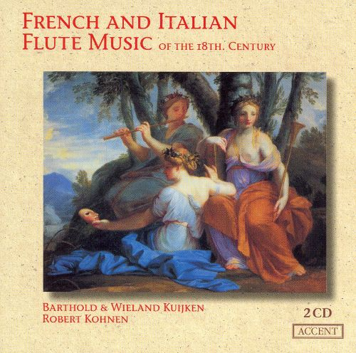French and Italian Flute Music of the 18th Century