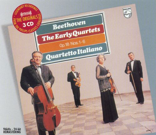 Beethoven: The Early Quartets - Op. 18, Nos. 1-6