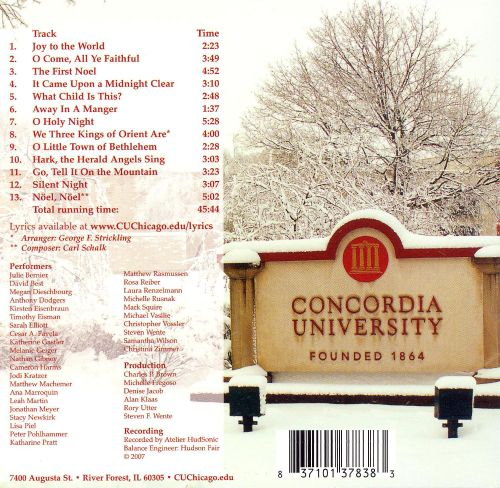 Concordia Carols: Songs of the Season from Concordia
