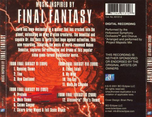 Final Fantasy: Music Inspired by Final Fantasy
