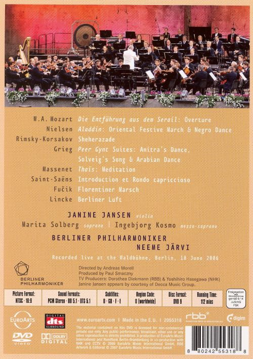 Sheherazade: An Oriental Night with the Berliner Philharmoniker [DVD Video]