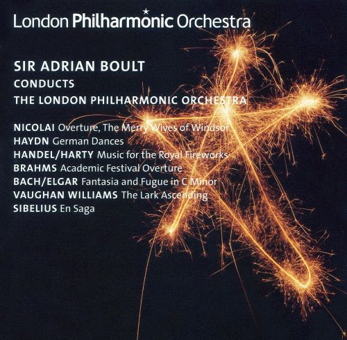 Sir Adrian Boult Conducts the London Philharmonic Orchestra