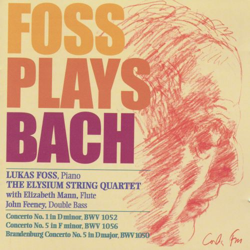 Foss Plays Bach