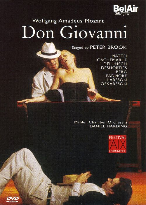 Mozart: Don Giovanni [DVD Video]