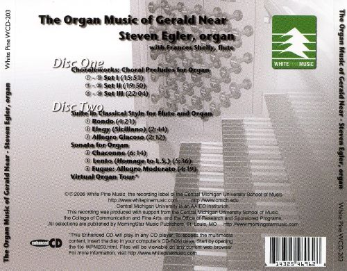 The Organ Music of Gerald Near