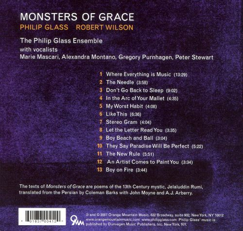 Philip Glass: Monsters of Grace