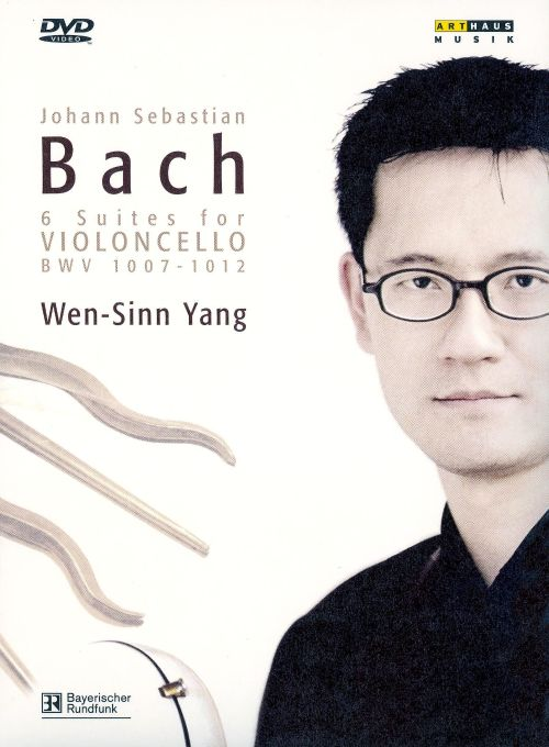 Bach: 6 Suites for Violoncello, BWV 1007-1012 [CD & DVD Video]