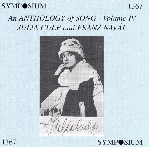 An Anthology of Song, Vol. 4