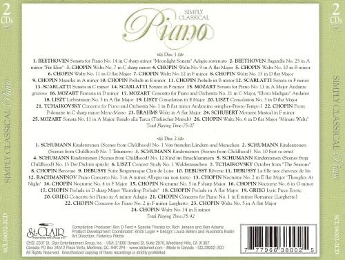 Simply Classical Piano/Various