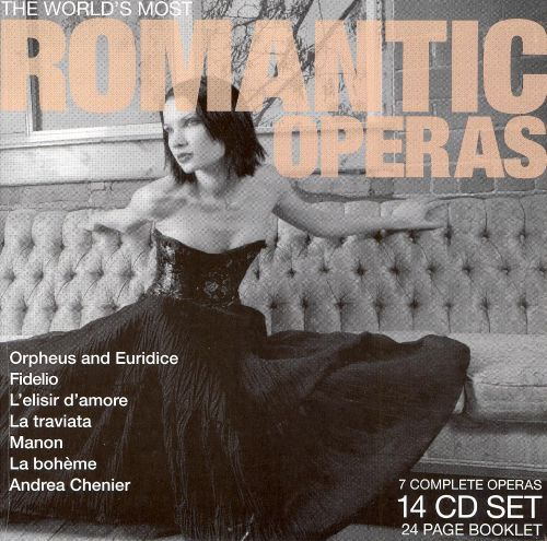 The World's Most Romantic Operas