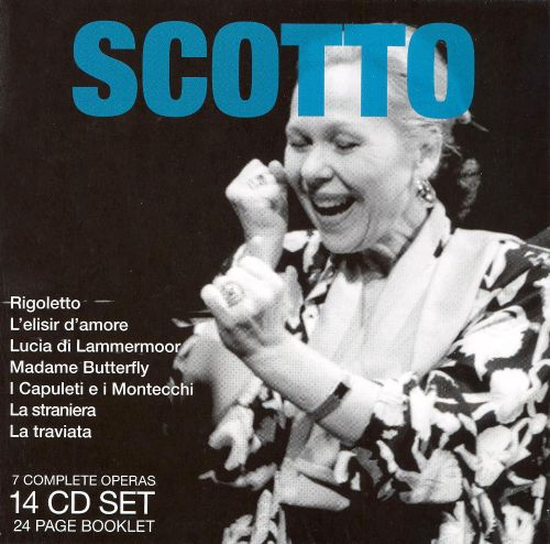 Legendary Performances of Scotto [Box Set]