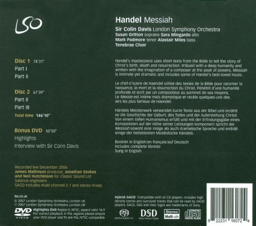 Handel: Messiah [2006]