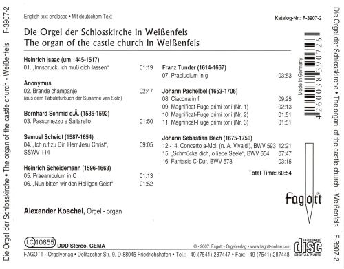 The Organ of the Castle Church in Weißenfels