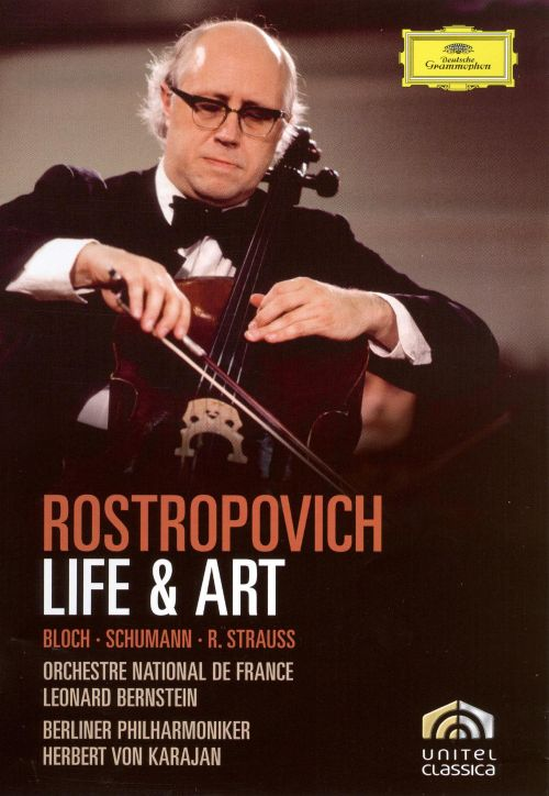 Rostropovich: Life & Art [DVD Video]