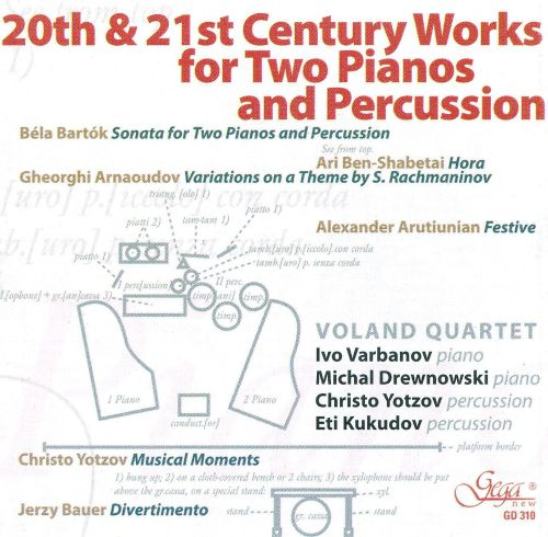 20th & 21st Century Works for Two Pianos and Percussion