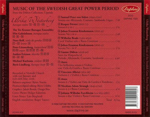 Music of the Swedish Great Power Period