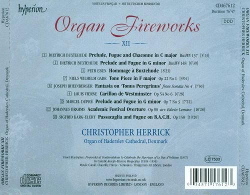 Organ Fireworks, Vol. 12