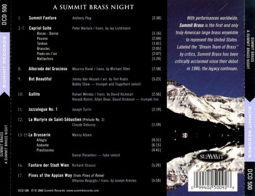 A Summit Brass Night: Live in Colorado