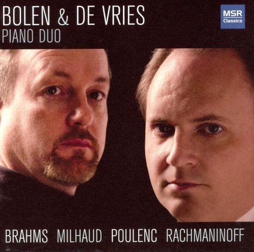 Brahms, Milhaud, Poulenc, Rachmaninoff: Works for 2 Pianos