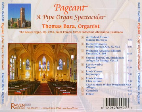 Pageant: A Pipe Organ Spectacular