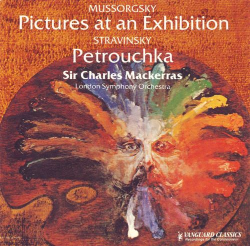 Mussorgsky: Pictures at an Exhibition; Stravinsky: Petroucka