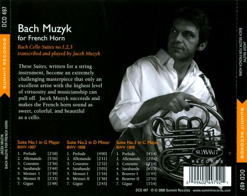 Bach: Muzyk for French Horn