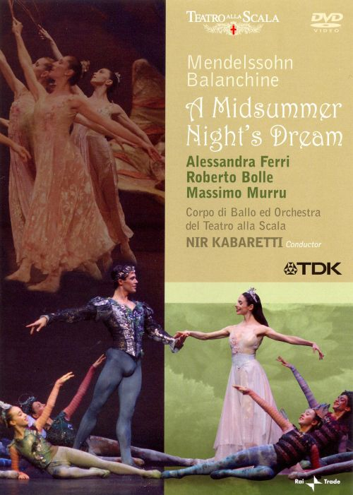 Mendelssohn: A Midsummer Night's Dream [DVD Video]