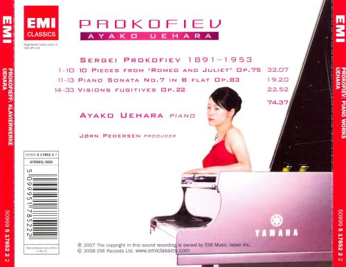 Prokofiev: Sonata No. 7; Visions Fugitives; 10 Pieces from Romeo and Juliet