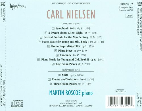 Carl Nielsen: Complete Piano Music