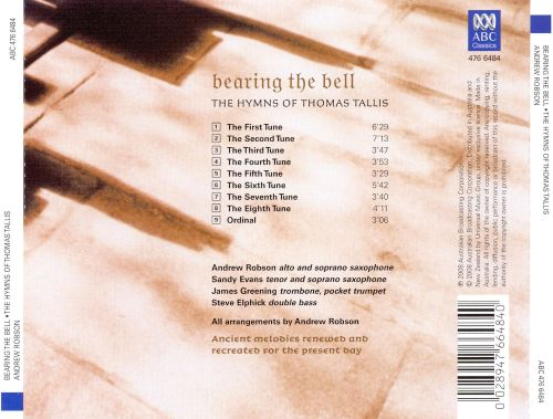 Bearing the Bell: The Hymns of Thomas Tallis