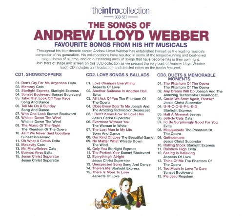 The Intro Collection: The Songs of Andrew Lloyd Webber