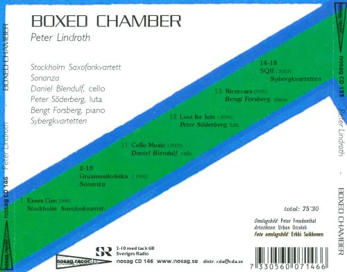 Peter Lindroth: Boxed Chamber