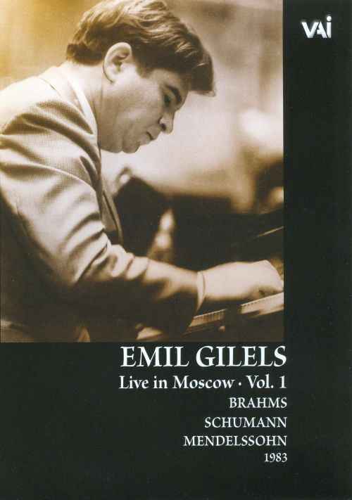 Emil Gilels Live in Moscow, Vol 1 [DVD Video]
