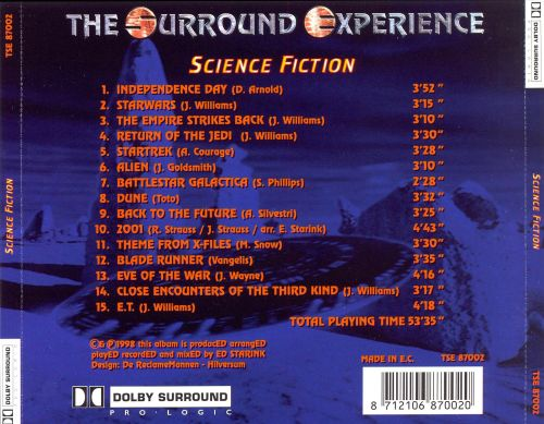 The Surround Experience: Science Fiction